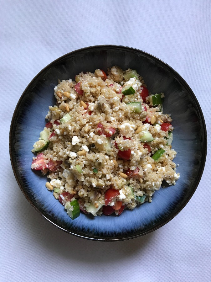 Recipe: Greek Quinoa Salad
